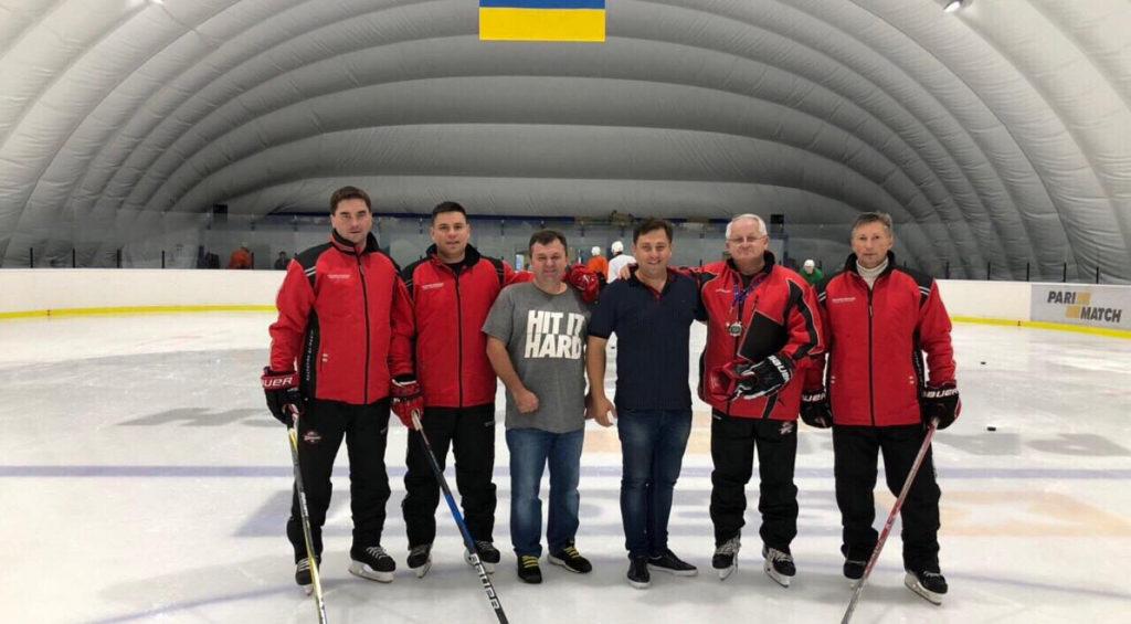 ХК «Донбасс» провел тренировку на ледовой арене на ВДНХ